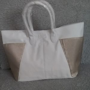 Jimmy Choo Parfums Faux Leather Tote Bag